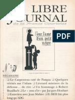 Libre Journal de la France Courtoise N°059