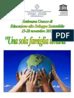 Manifesto Una Sola Famiglia Umana