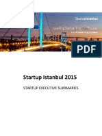 Executive Summary Startup Istanbul v1.2