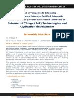 Expertshub_Internet of Things Internship_IoT Summer 2016