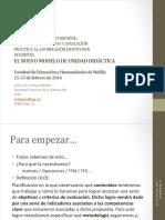 Presentación Elaboración Unidades DIdácticas Melilla UGR JLOrtega