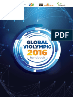 Global ViOlympic - Handbook