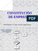 CONSTITUCIÒN DE EMPRESAS.ppt