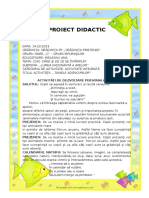 Orizont Didactic Proiect Tainele Adancurilor (1)