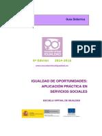 Guía Didáctica Servicios Sociales 2015