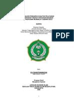 Sm4007analisis Pengaruh Kualitas Pelayanan