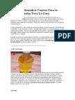 5 Simples Remedios Caseros Para La Fascitis Plantar Para La Casa