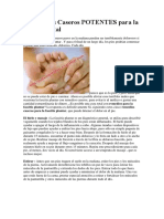 5 Remedios Caseros POTENTES Para La Fascia Plantal