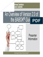 BABOK Overview Babok2preview