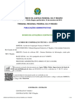 DIÁRIO ELETRÔNICO DA JUSTIÇA FEDERAL DA 4ª REGIÃO