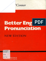 Better English Pronunciation (Cambridge English Language Learning) - J. D. O'Connor