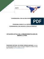 Situacion Actual Inmunohematologia