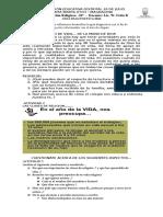 GUIA DIAGNOSTICA RELIGION 10° - 2016