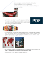 Organinación De Coca cola Compañy México