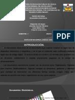 Documentos Electrónicos.