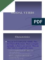 English - Modal Verbs II
