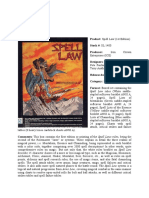 Rolemaster - Spell Law (1st Edition)