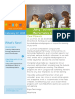 parents newsletter
