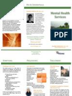 Brochure Performax Mental Health Services