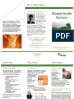 Brochure Performax Mental Health Services