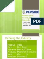 final pepsico industry analysis