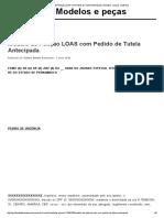 Modelo de Petição LOAS com Pedido de Tutela Antecipada _ Modelos e peças JusBrasil.pdf