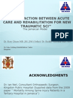 Care of New Traumatic SCI Patients in Jamaica