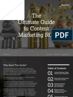 NewsCred's Ultimate Guide to Content Marketing ROI