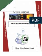 Análisis Matemático I Edgar Uriarte