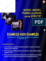 Mode Model Pembelajaran Efektif