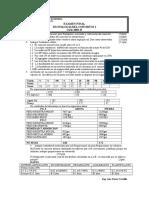 Examen Final 2003-II tecnologia de concreto