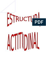 ACTITUDINAL