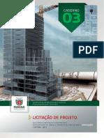 Caderno 03 Licitacao de Projetos
