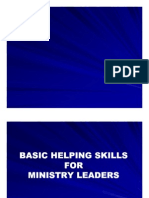 Basic Helping Skills for Ministry Leaders