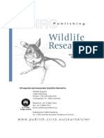 Escape Behaviour of Feral Horses During a Helicopter Count