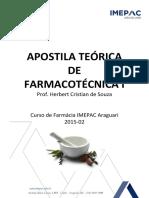 Apostila Teórica Farmacotecnica 1 2015-02