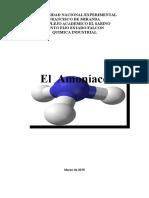 Trabajo Exp de Amoniaco