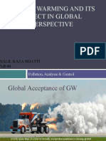 Global Warming & Its Effects In Global Perspective