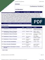 GRC Viz Sci Ed Conf Programs 1994-2009