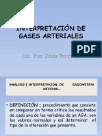 Interpretacion de Gases Arteriales Ztr