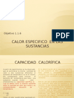 2.1.6 Calor Especifico en Las Sustancias