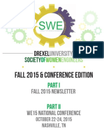 SWE Conference Edition 2015
