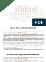 SGC - Sistema de Gestion de Calidad (Resumen)