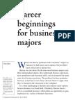 02  career beginnings for business majors