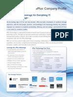EPlus Company Profile
