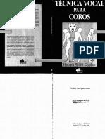 Técnica Vocal Para Coros - COELHO, Helena Wohl