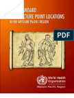 WHO Standard Accupuncture Point Locations