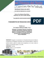 CAPACITACIÓN PEDAGÓGICA 2014