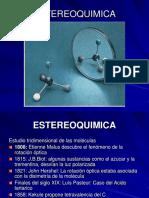 Presentacion Estereoquimica