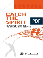 catch the spirit a students guide to community service pdf5483